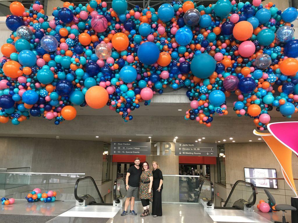 Biz Bash Balloon Build
