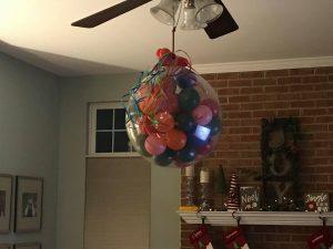 Balloon Drop; Family Activities